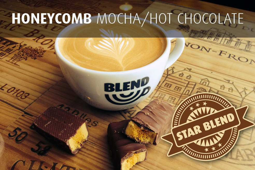 Honeycomb Mocha/Hot Chocolate
