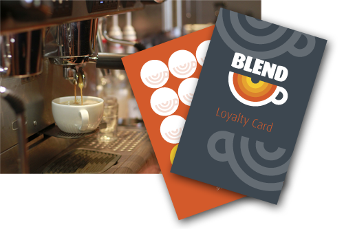 blend loyalty card