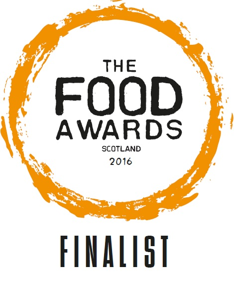FINALIST E-BADGE - The Food Awards Scotland 2016
